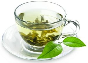 zielona herbata na biust