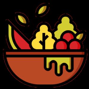 Miska z owocami.